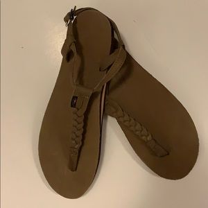 BNOT Rainbow leather sandals